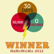NaNo Winner bagde